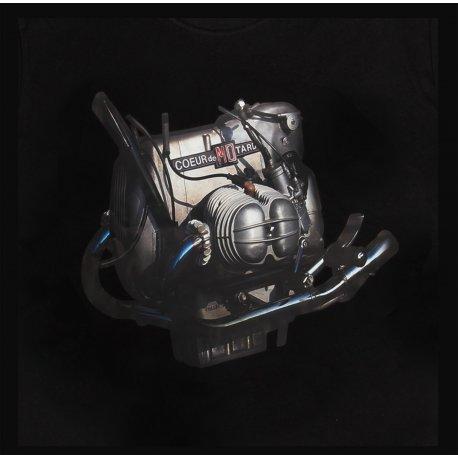 T-shirt moteur BMW R90S NOIR Moto Magazine