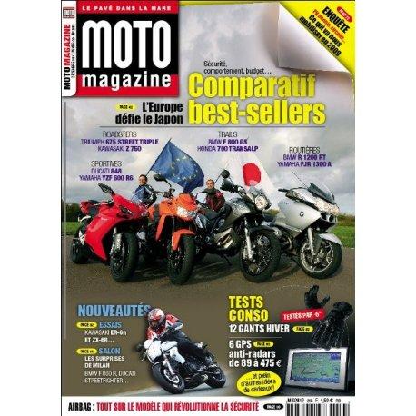 Moto Magazine n°253 - décembre 2008 / janvier 2009