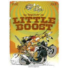 BD avec défaut d'aspect : La Légende de Little Boost par Fane et Juan