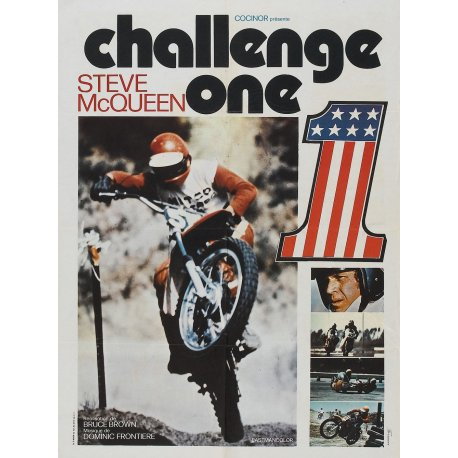 DVD moto : Challenge One (On any sunday avec Steve Mc Queen)