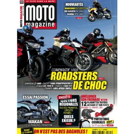 Moto Magazine n°265 - Mars 2010
