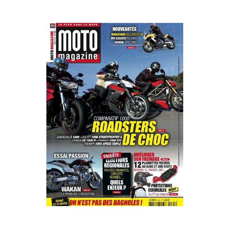 Moto Magazine n°265 Mars 2010 Boutique Moto Magazine T shirts DVD BD magazines