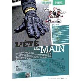 Test gants cuir aérés moto (2014) : Five, Ixon, Rev'it, V'Quattro, Alpinestars, Furygan, Scott, Held, Segura, Eska