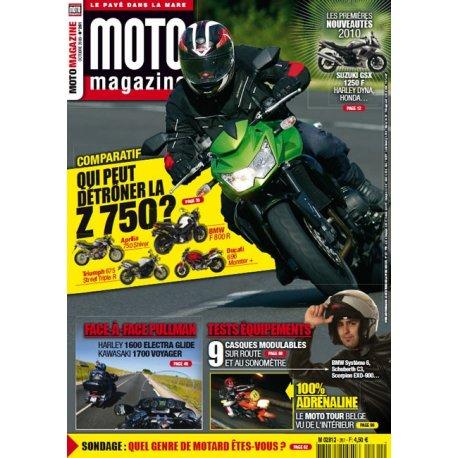 Moto Magazine n° 261 - octobre 2009