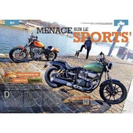Match customs (2014) : Harley-Davidson 883 Iron, Yamaha XV 950 R