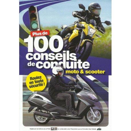 Guide de conduite : Plus de de 100 conseils pour rouler en moto et scooter - couverture