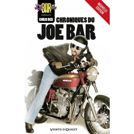 CHRONIQUES DU JOE BAR de Chris Deb - couverture