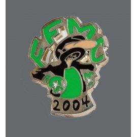 """Pin's moto FFMC 2004 : """"Non mais…"""""""