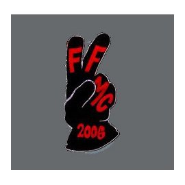 "Pin's moto FFMC 2006 : ""Le V"" motard"