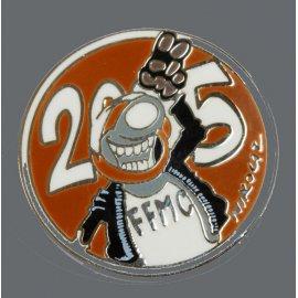 "Pin's moto FFMC 2005 : ""Salut copain"""