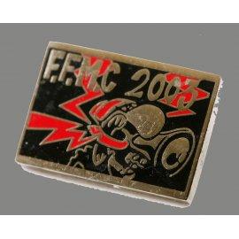"Pin's moto FFMC 2003 : ""Mégaphone"" motard en colere"
