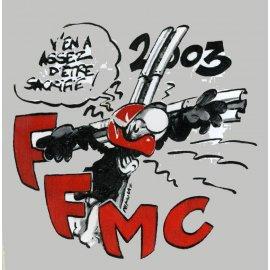 "Motocollant FFMC 2003 : ""Contre les rails"""