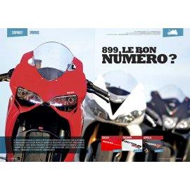 Comparatif Sportive (2014) : Aprilia 1000 RSV4, Ducati 899 Panigale, Triumph 675 Daytona R