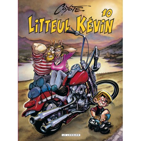 BD moto Litteul Kevin - Tome 10