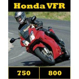 Compile des tests HONDA 750-800 VFR (2004-2014) 58 pages d'essais à télécharger