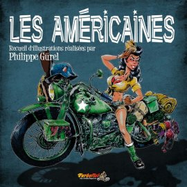 """Recueil d'illustrations motos : """"Les américaines"""" de Philippe Gürel"""