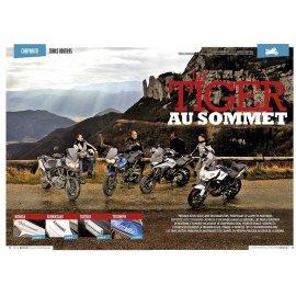 Test gros trails routiers (2015) : Triumph Tiger, Honda VFR, Kawa Versys, Suz V-Strom
