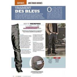 Test Jeans étanches renforcés (2015) : Rev'it Memphis, EsquaD Jacob