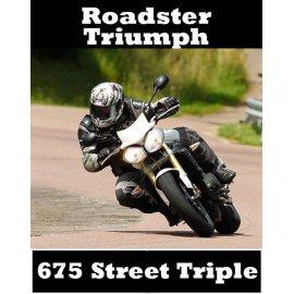 Compile des tests TRIUMPH 675 Street Triple (2007-2013) 101 pages d'essai à télécharger