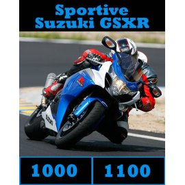 Compile des tests SUZUKI 1000-1100 GSXR (2005-2014) 68 pages d'essais à télécharger