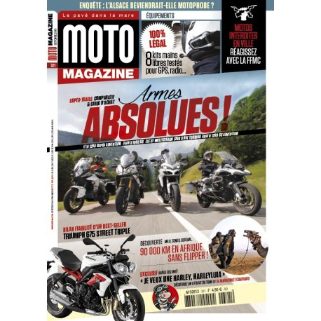 Moto Magazine n° 321 – Octobre 2015