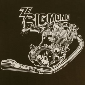"Tee-shirt YAMAHA 500 XT/SR ""Ze big mono"""