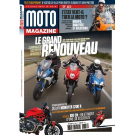 Moto Magazine n° 322 - Novembre 2015