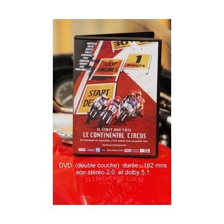 """DVD moto : """"Il était une fois le continental circus"""" de Bernard Fau"""