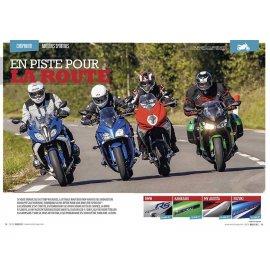 Test Routières-Sports (2015) : BMW R 1200 RS, Kawa Z 1000 SX, MV Agusta Turismo Veloce 800, Suzuki GSX-S 1000 F