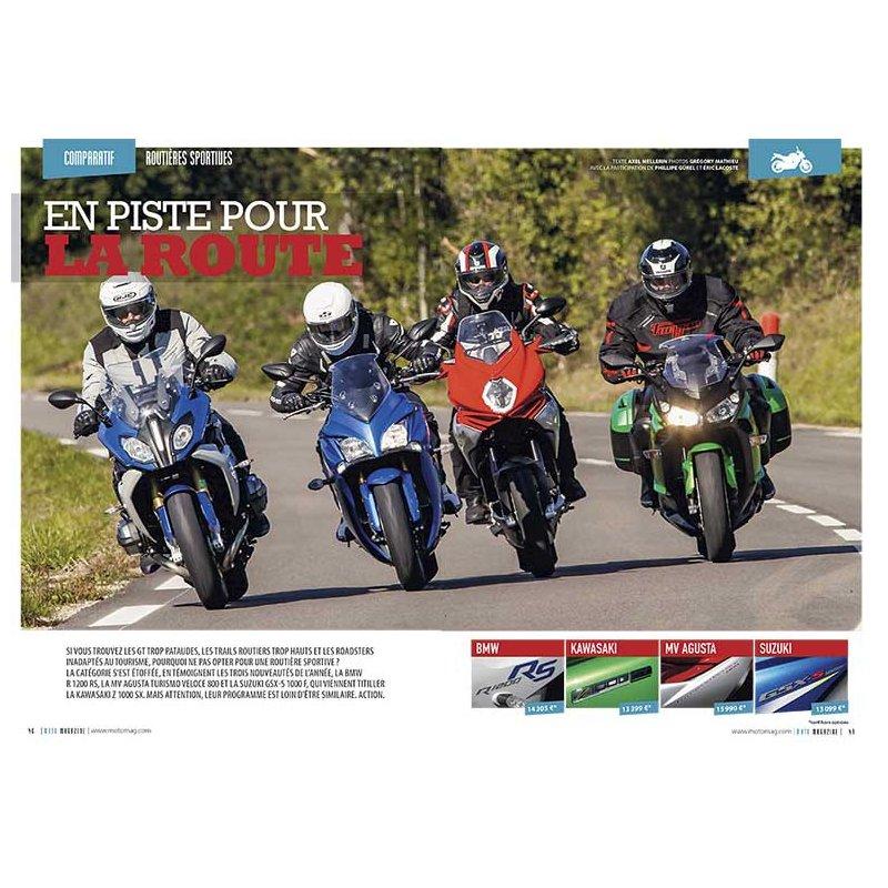 Bmw Z 2015: Test Routières-Sportives (2015) : BMW R 1200 RS, Kawasaki