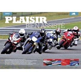 Comparatif Sportives (2015) : Aprilia RSV4 RF, BMW S 1000 RR, Ducati 1299 Panigale, Yamaha YZF 1000 R1