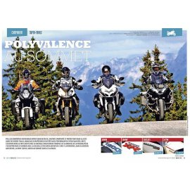 Trail (2015) : BMW R1200 GS Adv, BMW S 1000 XR, KTM 1290 Super Adv, Ducati Multistrada 1200 S