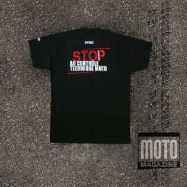 T-shirt moto anti-contrôle technique