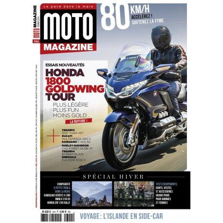 Moto Magazine n° 344 - Février 2018