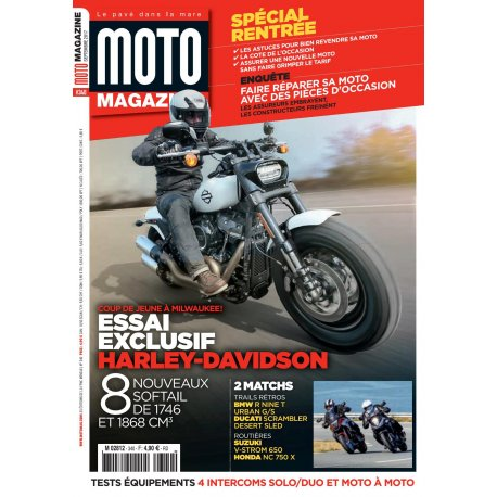 Moto Magazine n° 340 - Septembre 2017  - version PDF