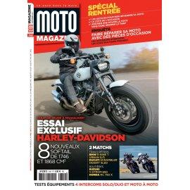 Moto Magazine n° 340 - Septembre 2017