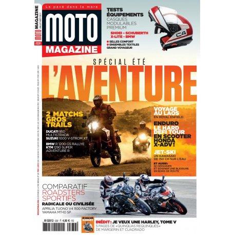Moto Magazine n° 339 - Juillet-Août 2017