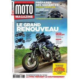 Moto Magazine n° 338 - Juin 2017