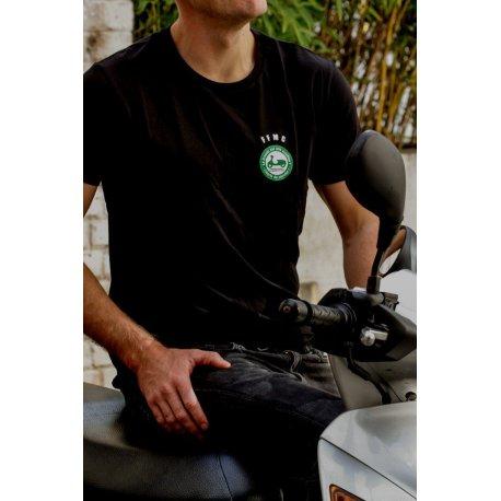 T-shirt Scooter Liberté de circuler pour motards en colère
