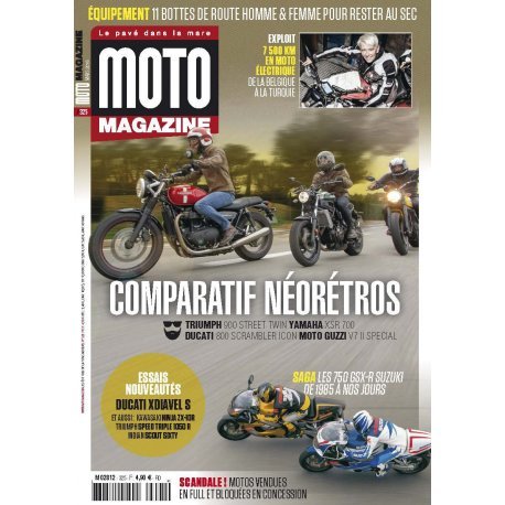 Moto Magazine n° 325 – Mars 2016
