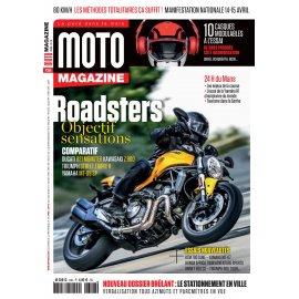 Moto Magazine n° 346 - Avril 2018