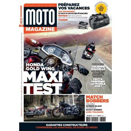 Moto Magazine n° 347- Mai 2018