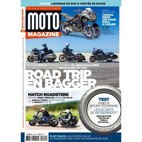 Moto Magazine n° 349- Juillet-août 2018
