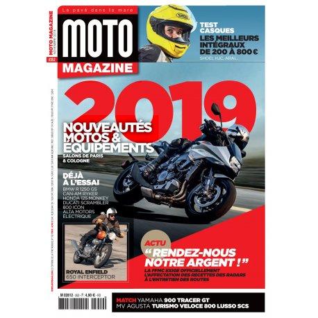 Moto Magazine n° 352- novembre 2018