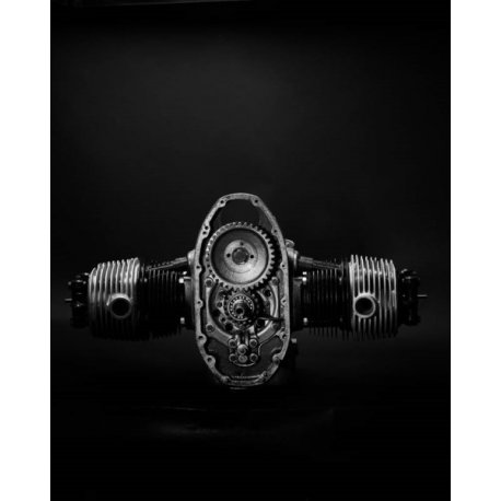 Photo d'art 40 X 50 de Grégory Mathieu : Moteur BMW