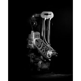 Photo d'art 40 X 50 de Grégory Mathieu : Moteur JAP