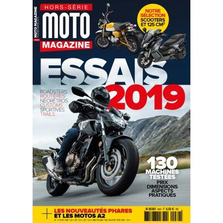 Moto Magazine : Hors-série Essais 2019