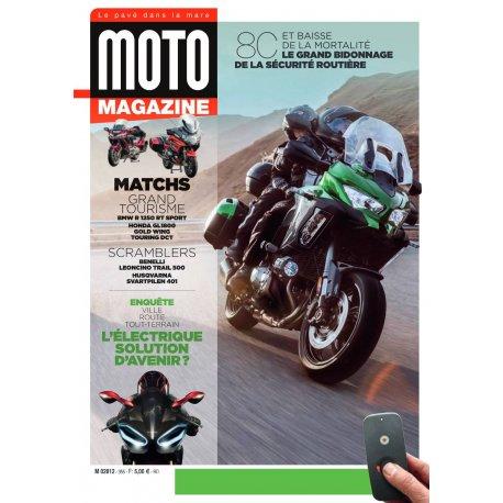 Moto Magazine n° 355 - Mars 2019