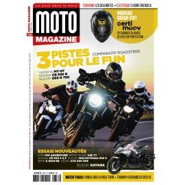 Moto Magazine n° 356 - Avril 2019