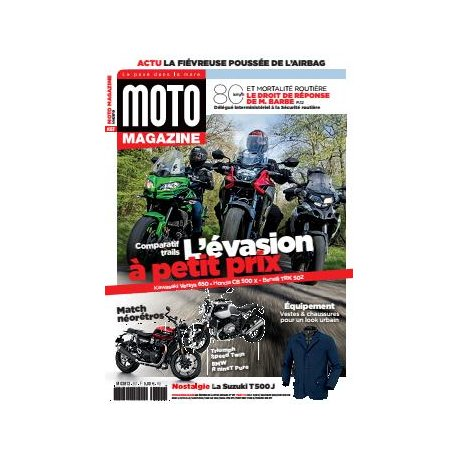 Moto Magazine n° 357 - Mai 2019